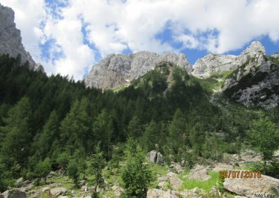 023 proti planini Zgornja Krma, Vernar 220m, 11.16