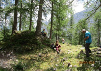030 planina Zgornja Krma, pastirski stan Prgarca - 1763m, 11.49