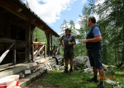 033 planina Zgornja Krma, pastirski stan Prgarca - 1763m, 12.02