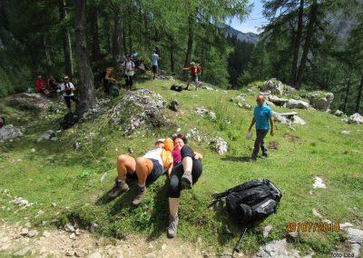 034 planina Zgornja Krma, pastirski stan Prgarca - 1763m, 12.19