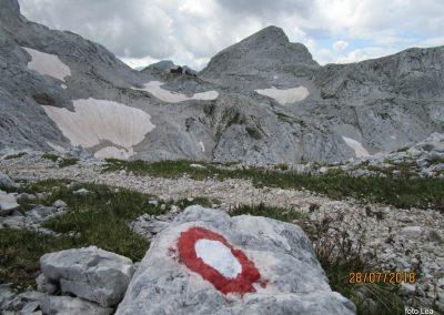 099 Staničeva koča - 2332 in Begunjski vrh - 2460m