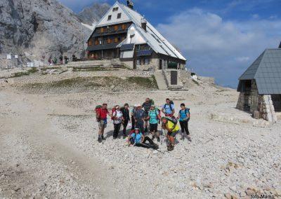 100 Triglavski dom na Kredarici - 2515m, treba bo v dolino, 9.59