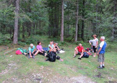 105 za večino konec doživetij v Krmi 'Pri lesi' - 950m, 14.45