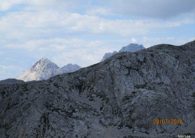 107 Dolkova špica - 2591m in Škrlatica - 2740m približana, 15.12