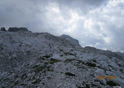 108 zaradi temnih oblakov smo opustili vzpon na Rjavino, 15.12