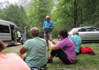 263 konec!, v zatrepu doline Krma 'Pri lesi' - 950m, 15.33