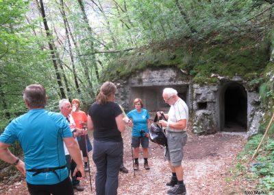 07 vojaška cesta do trdnjave Fort Herman vodi skozi ta predor, 9.39