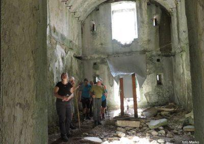 19 v notranjosti trdnjave Fort Herman, 10.19