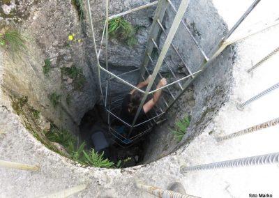 26 izhod iz podzemnih hodnikov v trdnjavi Fort Herman, 10.33