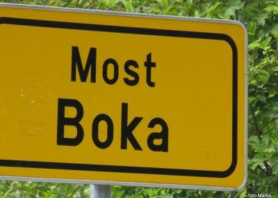 48 ustavili smo se pri mostu čez potok Boka, 12.46