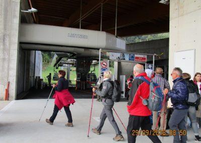 003 izhodišče pri spodnji postaji žičnice, 08.50