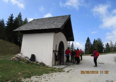 034 razpotje Svete Višarje - Kamniti lovec, 11.32