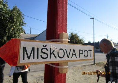 Po poti Miška Kranjca – PD Lendava, 6. oktober 2018 (foto Lea)