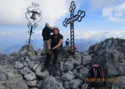 066 na vrhu Kamnitega lovca, 2071m, 12.55