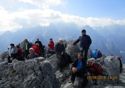 069 na vrhu Kamnitega lovca, 2071m, 12.59