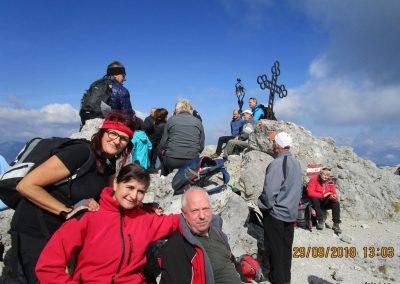 071 na vrhu Kamnitega lovca, 2071m, 13.03