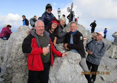 072 na vrhu Kamnitega lovca, 2071m, 13.04