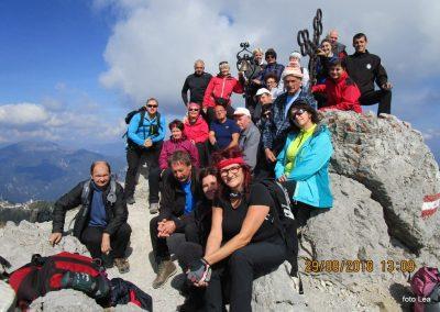 076 na vrhu Kamnitega lovca, 2071m, 13.09