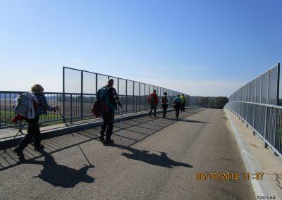 49 na poti od Dolge vasi do Velike Polane, prečkamo avtocesto 11.36