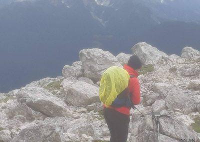 17 na vrhu Rombona, 2208m, 11.03