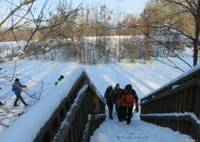 18 na poti od kovaškega muzeja skozi murski gozd do prazgodovinske naselbine, most čez Ščavnico, 9.32