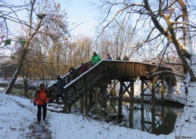 19 na poti od kovaškega muzeja skozi murski gozd do prazgodovinske naselbine, most čez Ščavnico, 9.32