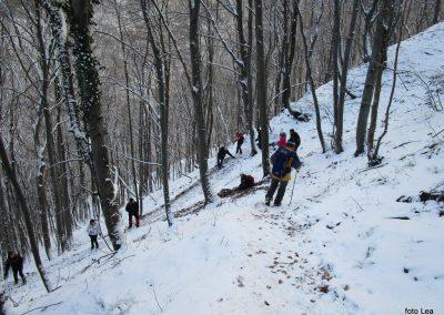 68 povratek z Ivanščice v dolino, 14.56