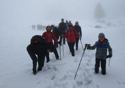 102 na poti od Doma na Menini na vrh Vivodnik, 12.50