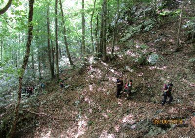 020 VELEBIT, vzpon na Konjevaćo 1381m, 9.46