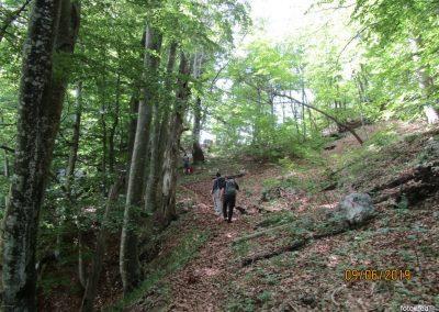 021 VELEBIT, vzpon na Konjevaćo 1381m, 9.51