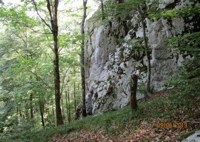 023 VELEBIT, vzpon na Konjevaćo 1381m, 9.53