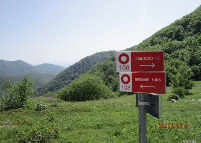 037 VELEBIT, vzpon na Konjevaćo 1381m, 10.14