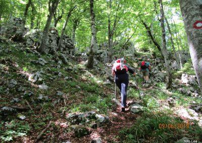 049 VELEBIT, vzpon na Konjevaćo 1381m, 11.38