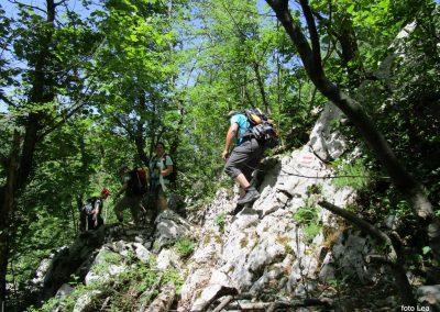 086 VELEBIT,s Konjevaće na Veliki Sadikovac 1286m, 13.08
