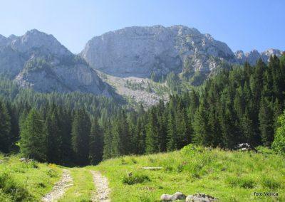 03 RADUHA PO ZAVAROVANI,pogled s planine Grohat na severno steno Male raduhe, 10.26
