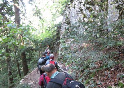 17 SLJEME, vzpon proti planinskemu domu na Hunjki - 'Horvatove stube', 10.28