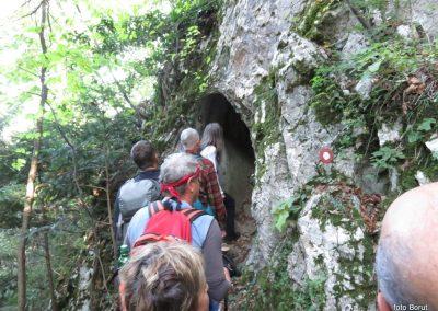 18 SLJEME, vzpon proti planinskemu domu na Hunjki - 'Horvatove stube', 10.28