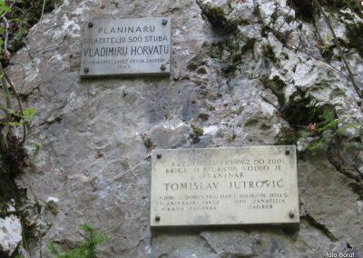 19 SLJEME, vzpon proti planinskemu domu na Hunjki - 'Horvatove stube', 10.29