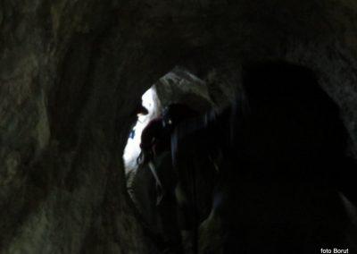 20 SLJEME, vzpon proti planinskemu domu na Hunjki - 'Horvatove stube', 10.29
