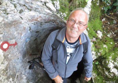 21 SLJEME, vzpon proti planinskemu domu na Hunjki - 'Horvatove stube', 10.30