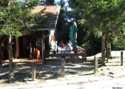 36 SLJEME, planinski dom na Hunjki, 11.24