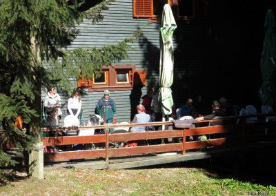 38 SLJEME, planinski dom na Hunjki, 11.25
