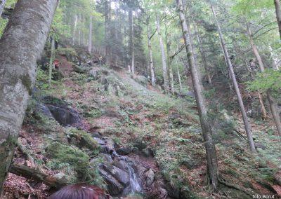 39 LOBNICA - ŠUMIK - AREH, po soteski Lobnice, 10.13