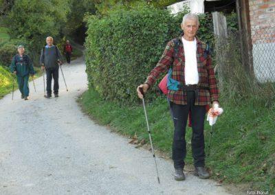 81 SLJEME, na dolgi in blatni poti od Hunjke do vasi Slani potok, 17.08