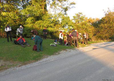 92 SLJEME, v vasi Slani potok, kjer končamo turo, 17.42