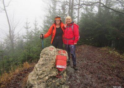 050 MRZLICA-KAL, na vrhu Kalskega hriba, 985m, 10.02