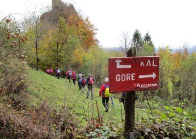 103 MRZLICA-KAL, na od planinskega doma na Kalu v naselje Marno, 12.09