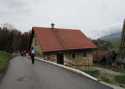 114 MRZLICA-KAL, na od planinskega doma na Kalu v naselje Marno, 12.50