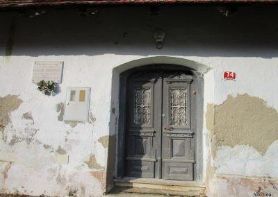 37 POHOD V NEZNANO - 8. december 2019, rojstna hiša dr. Karla Grossmana v Drakovcih, 9.54
