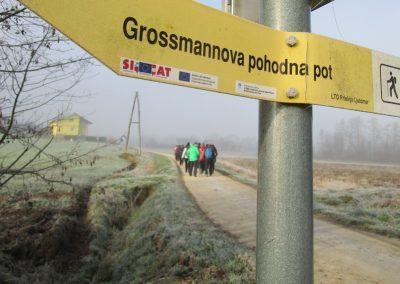 47 POHOD V NEZNANO - 8. december 2019, na poti od Grossmana do kmetije Vrbjak, 10.04